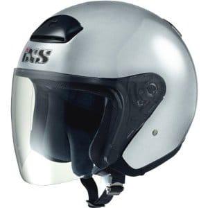 Motorrad Kinderhelm - Jethelm IXS HX 118 in Silber