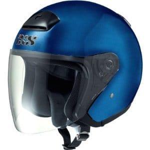 Motorrad Kinderhelm - Jethelm IXS HX 118 mit Visir in Blau