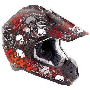 Kinder Motorradhelm - Rocc 710 Spider Junior Rot