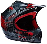 ARMOR HELMETS AKC-49 'Titan' · Kinder-Cross-Helm · Motorrad-Helm MX Cross-Helm MTB BMX Cross-Bike Downhill Off-Road Enduro-Helm Moto-Cross Sport Pocket-Bike · DOT Schnellverschluss Tasche M (55-56cm)