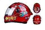 WANGXB Kinder Motorradhelm,Fullface Helm,Kids Fullface Helm. stoßfest,High Density ABS,Leicht robust,antibakteriell. Be applicableAlle Jahreszeiten.