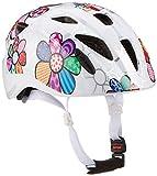 ALPINA Unisex - Kinder, XIMO FLASH Fahrradhelm, white flower gloss, 49-54 cm