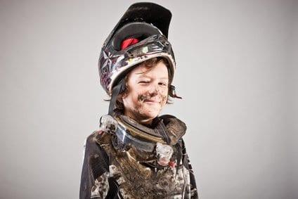 Kinder Motocross Helme