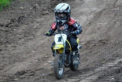 Kinder Motocrosshelm